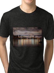 Williamsburg Bridge Tri-blend T-Shirt