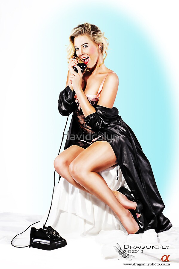 Pin Up: Telephone by davidcolyn