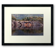 Dunn's Swamp Wollomi  National Park Framed Print