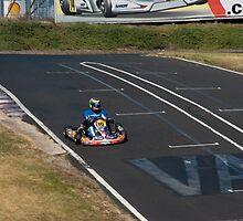 Kart racing by Gerard Rotse