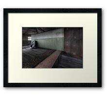 The Magritte Locker Room (Revisit) Framed Print