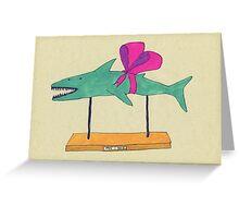 a shark Greeting Card