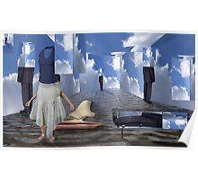 Illusory selves in infinite sky  Poster