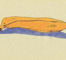 a banana by maybemary