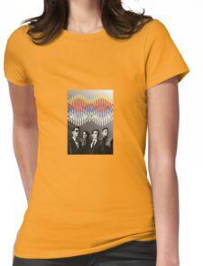 Arctic Monkeys- AM Print Womens Fitted T-Shirt