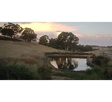 Summit Road, Nairne, South Australia Photographic Print