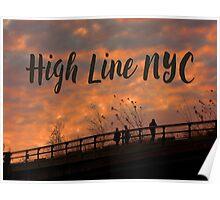 High Line Sunset Poster