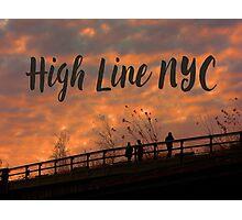 High Line Sunset Photographic Print