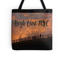 High Line Sunset Tote Bag