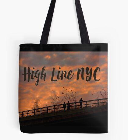High Line Sunset Tote Bag
