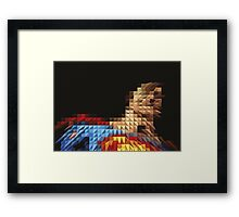 Superhero Five Framed Print