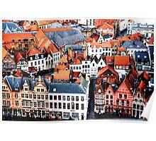 Bruges Markt Poster