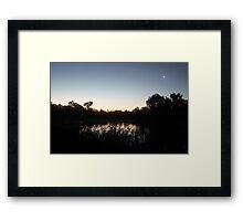 Laratinga Wetlands, Mount Barker, South Australia Framed Print