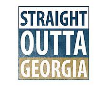 Straight Outta Georgia Photographic Print