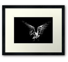 Hanging High Framed Print
