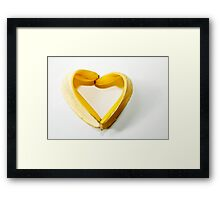 ~I love bananas ~  I sold one Yaahooo  Framed Print