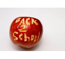 ~ BACK TO SCHOOL ~ Photographic Print