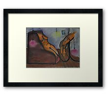 modern marriage Framed Print