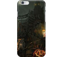 Halloween Haunted House phone case iPhone Case/Skin
