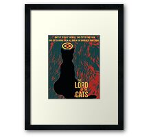 The Lord of the Cats Framed Print