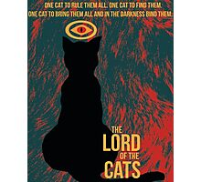 The Lord of the Cats Photographic Print