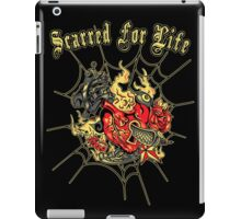 Tattoo design a mother would love - Scarred For Life iPad Case/Skin