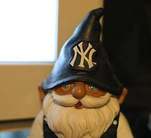 New York Yankee Gnome by themangro