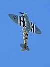 Vertical Climb - Supermarine Spitfire IX – Kent Spitfire  by Colin J Williams Photography