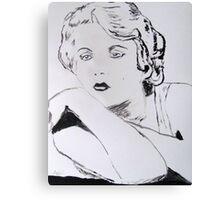 Harlow I Canvas Print