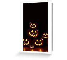 Halloween Pumpkin phone cases & stickers Greeting Card