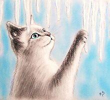 Le petit chaton aux glaçons.. by karina73020