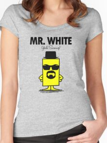Mr. White Women's Fitted Scoop T-Shirt