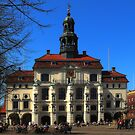 Lneburg Townhall by herbspics