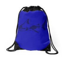 Shark Drawstring Bag