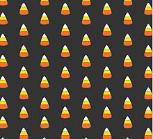 Fall Halloween Candy Corn phone case by youtubemugs