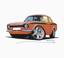 Ford Escort (Mk1) Mexico Orange by Richard Yeomans