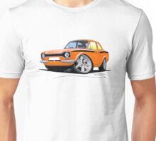 Ford Escort (Mk1) Mexico Orange Unisex T-Shirt