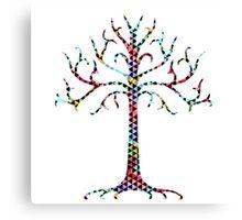 Triangular Gondor tree Canvas Print