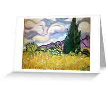 Vang Gogh Greeting Card