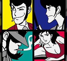 Lupin the third and his friends (2) by gallo177