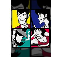 Lupin the third and his friends (2) Photographic Print