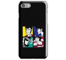 Lupin the third and his friends (2) iPhone Case/Skin