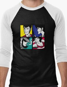 Lupin the third and his friends (2) Men's Baseball ¾ T-Shirt