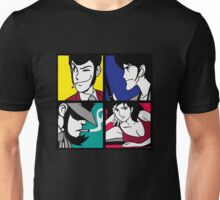 Lupin the third and his friends (2) Unisex T-Shirt