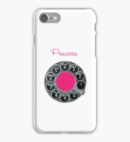 Blue & White Rotary Dial iPhone Case iPhone Case/Skin