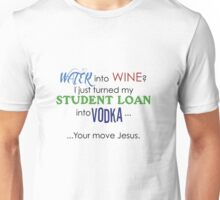 Water into Wine..? Unisex T-Shirt