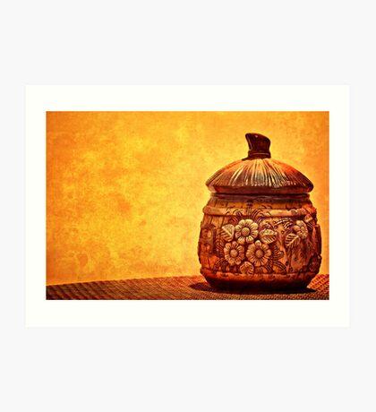 Cookie Cookie Jar Jar Art Print