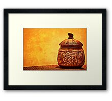 Cookie Cookie Jar Jar Framed Print