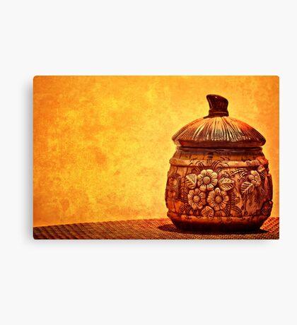 Cookie Cookie Jar Jar Canvas Print