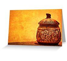 Cookie Cookie Jar Jar Greeting Card